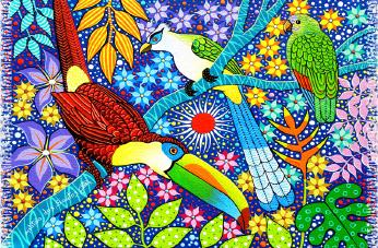 13 Aves Tropicais